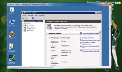Информация о компьютере на VPS