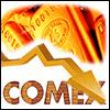 Снижение цены на золото