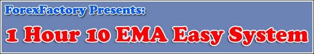 1 Hour 10 EMA Easy System