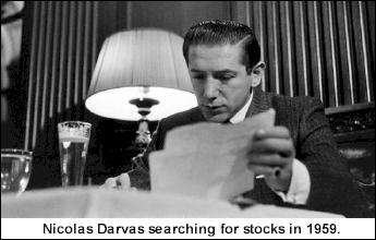 Николас Дарвас изучает акции