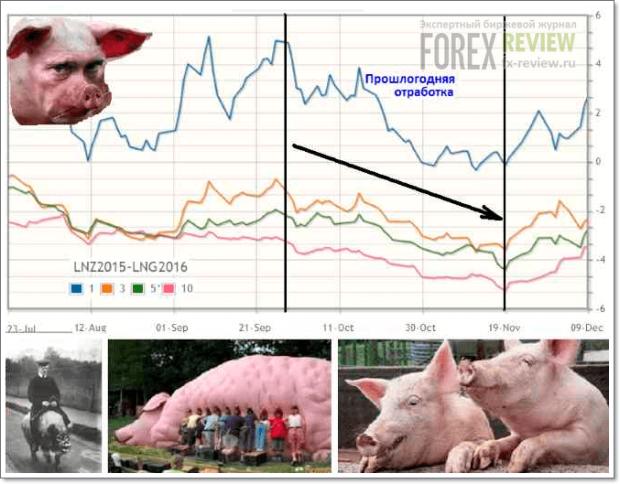 Спред свиней
