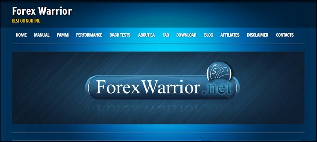 Сайт Forex Warrior